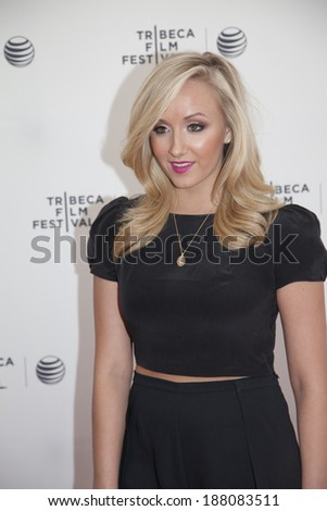 New York, NY, USA - April 19, 2014: Gymnast Nastia Liukin attends Tribeca Talks: After the Movie: 'Champs' during the 2014 Tribeca Film Festival at the SVA Theater, Manhattan