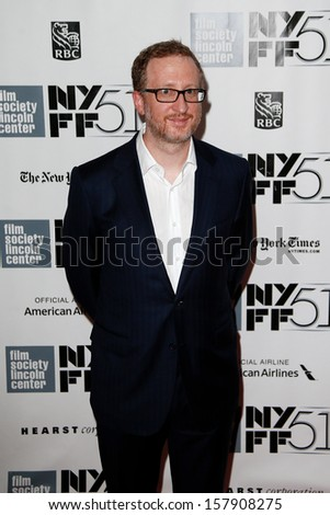 NEW YORK-OCT 5: Director James Gray attends 'The Secret Life Of Walter Mitty' premiere at the 51st New York Film Festival at Alice Tully Hall at Lincoln Center on October 5, 2013 in New York City.