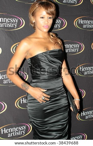 NEW YORK - OCTOBER 7: Eve arrives at the Hennesy Artistry 2009 Series finale red carpet at Terminal 5 on October 7, 2009 in New York. - stock photo