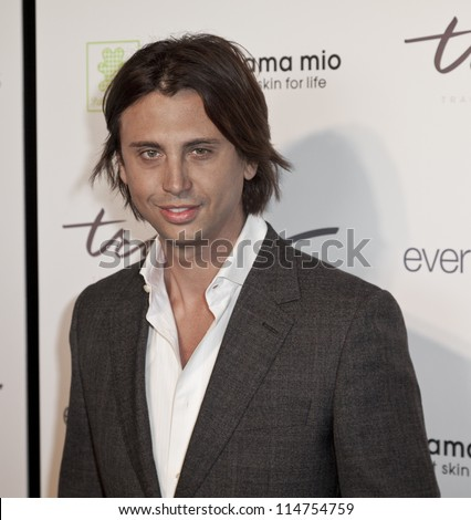 NEW YORK - OCTOBER 05: Jonathan Cheban attends launch of The Tracy Anderson Method Pregnancy Project at Le Bain At The Standard Hotel on October 05, 2012 in New York City. - stock photo