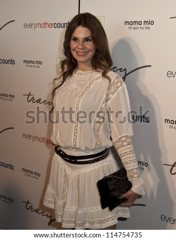NEW YORK - OCTOBER 05: Maria Britto attends launch of The Tracy Anderson Method Pregnancy Project at Le Bain At The Standard Hotel on October 05, 2012 in New York City. - stock photo