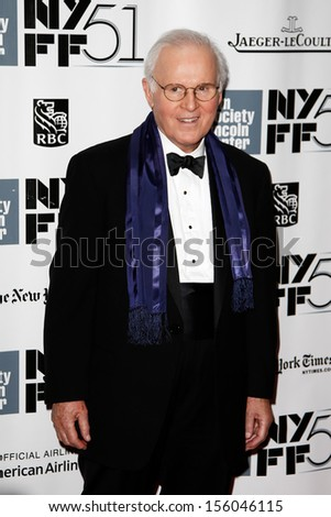"NEW YORK-SEP 27: Actor Charles Grodin is seen filming ""While We're Young"" September 27, 2013 in New York City. - stock photo"