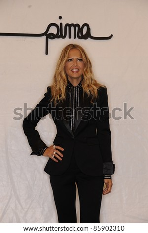 NEW YORK - SEPTEMBER 8: (L-R) Rachel Zoe attends the SUPIMA Spring / S 2012 during Mercedes-Benz Fashion Week on September 8, 2011 in New York. - stock photo