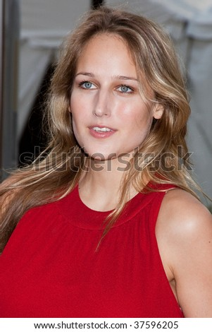 NEW YORK - SEPTEMBER 21: Leelee Sobieski attends the Metropolitan Opera 2009-10 season opening night at Lincoln Center for  on September 21, 2009 in New York City. - stock photo