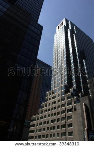 New york skyscraper - stock photo