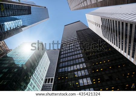 Modern Architecture New York City new york usa apr 28 2016 stock photo 435421324 - shutterstock