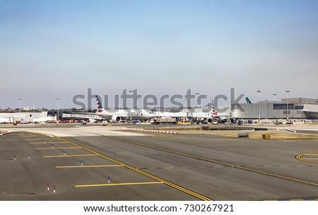 New York Usa Oct Stock Photo Shutterstock - Biggest airport in usa