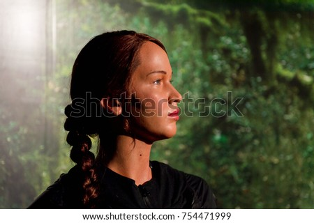 Katniss stock images royalty free images vectors shutterstock new york usa sep 16 2017 jennifer shrader lawrence as katniss everdeen voltagebd Image collections