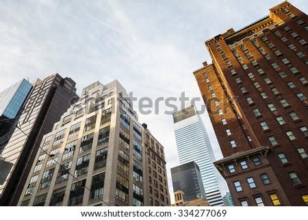 "Modern Architecture New York drop of light's ""new york city"" set on shutterstock"