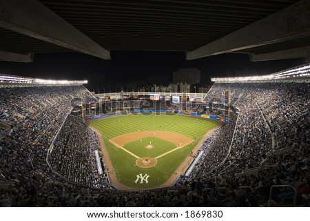 New York Yankee Stadium - stock photo