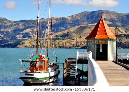 New Zealand - stock photo