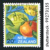 NEW ZEALAND - CIRCA 1983: stamp printed by New Zealand, shows Citrus Fruit, circa 1983 - stock photo