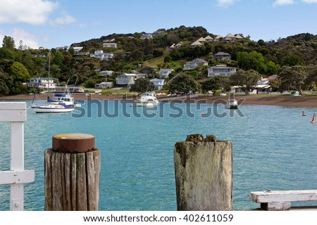 New Zealand, Russell - stock photo