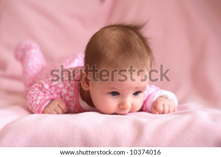newborn - stock photo