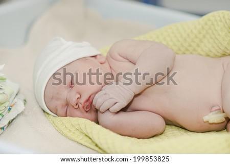 newborn.  - stock photo
