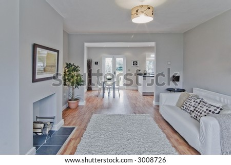 newly converted house - stock photo