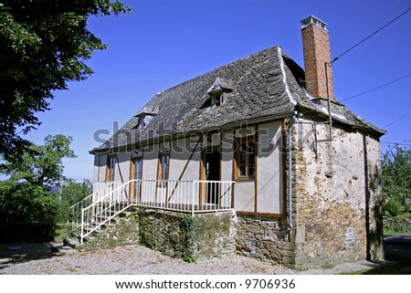 newly renovated old bard in correze, france
