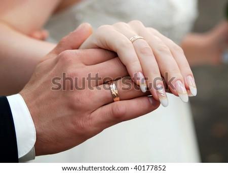 newlywed - stock photo