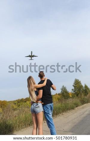 Short story honeymoon couple plane