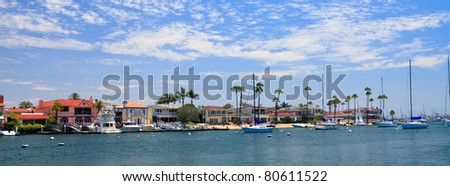 Newport Beach, California - stock photo