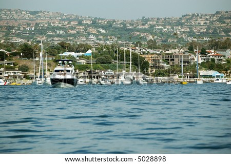 Newport Beach California Harbor