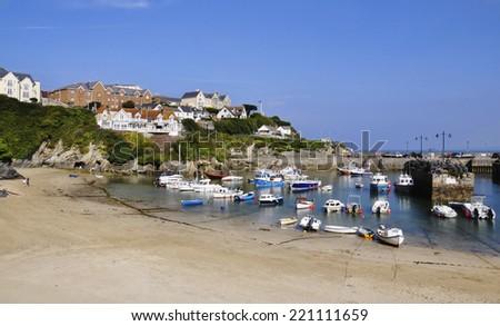 Newquay Cornwall England - stock photo
