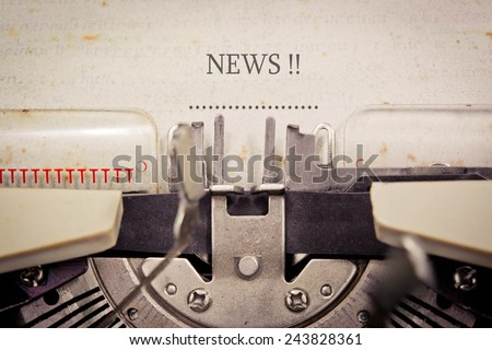News - stock photo