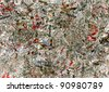 newspaper dirty art designed background. - stock photo