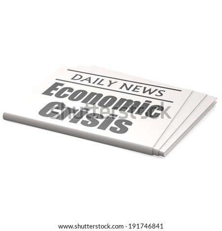 Newspaper economic crisis