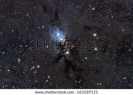 NGC 1333, A Reflection Nebula In Perseus