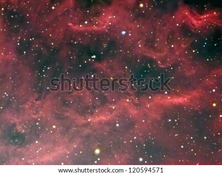 NGC 1499 California Nebula - stock photo