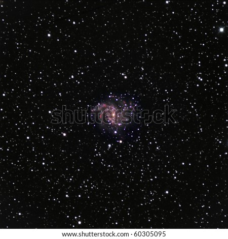 NGC6946, The Fireworks Galaxy - stock photo