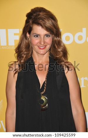 Nia Vardalos at the Women in Film 2012 Crystal + Lucy Awards at the Beverly Hilton Hotel. June 13, 2012  Beverly HIlls, CA Picture: Paul Smith / Featureflash