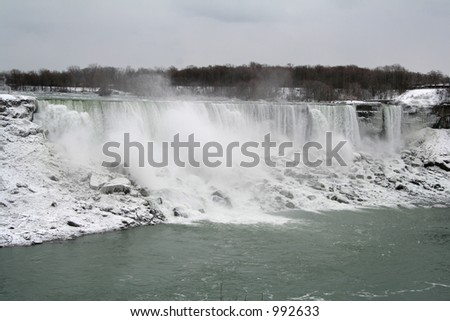 Niagara Falls - American Falls - stock photo