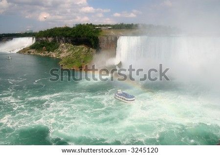 Niagara Falls Both American and Canadian Sides with Maid of the Mist