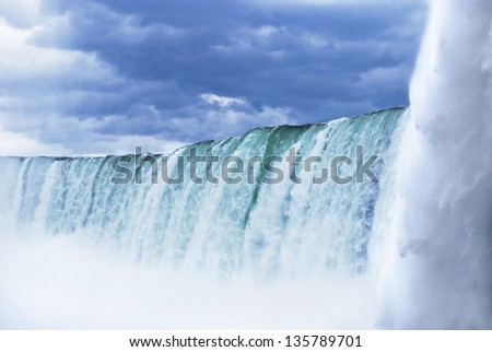 Niagara Falls from up close