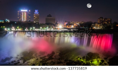Niagara Falls New York - stock photo