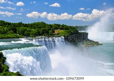Niagara Falls, NY, USA - stock photo