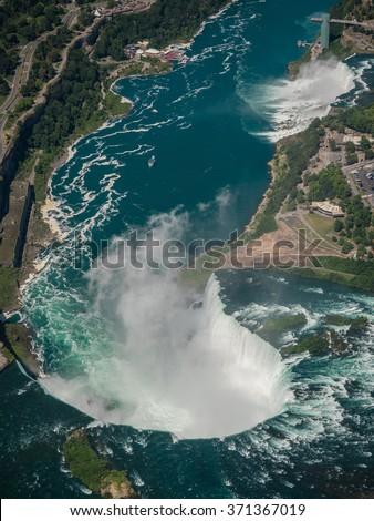 Niagara Falls,toronto,canada/Niagara Falls,toronto,canada - stock photo