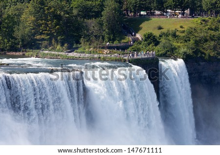 Niagara Falls, United States - stock photo