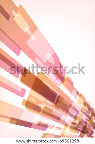 Nice abstract modern background. illustration - stock photo