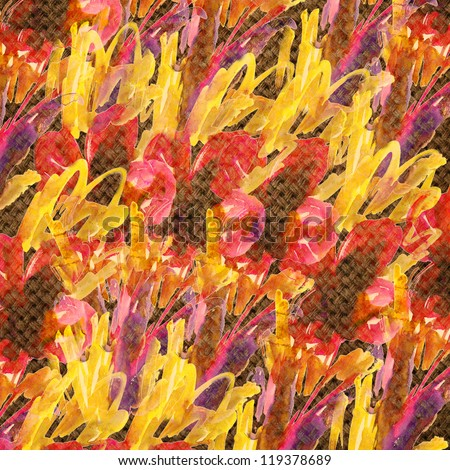 Nice abstract pattern colorful background - stock photo