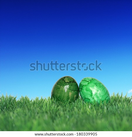 Nice decoration for Easter time - stock photo