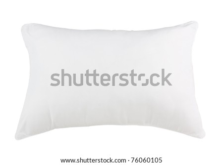 Nice design of hygiene pillow isolated