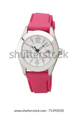 Nice design of wristwatch best  for someone gift - stock photo