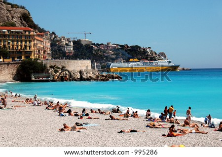Nice, France - stock photo