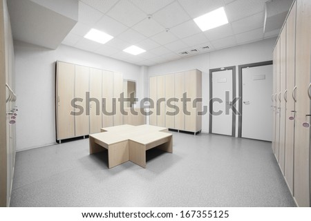 Cloakroom stock photos images pictures shutterstock - Nice interior pic ...