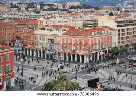 Nice (Nizza), France - stock photo