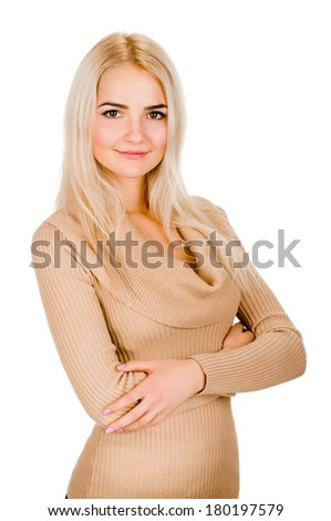 nice portrait - stock photo