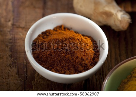 nice sot of paprika in a bowl